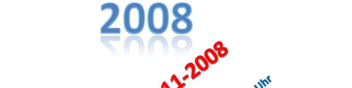 Das MEGA-Event – 1. Vereinsmeisterschaft und Abfliegen 2008