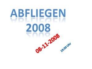 Abfliegen 2008