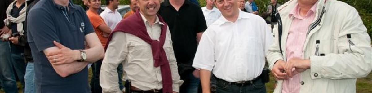 Beim Team Event der IBM sah man nur zufriedene Gesichter