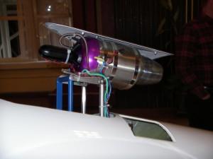 ASW20 mit Turbine