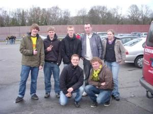 Die Jugendgruppe in Dortmund