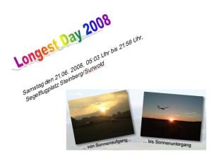 Longest Day 2008