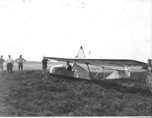 Luftsportverein Papenburg - erste Startversuche auf dem Schlopenberg