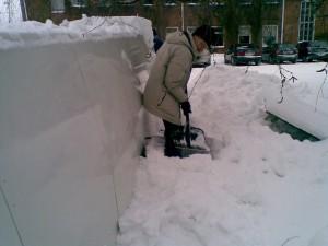 Winterarbeit in Finnland