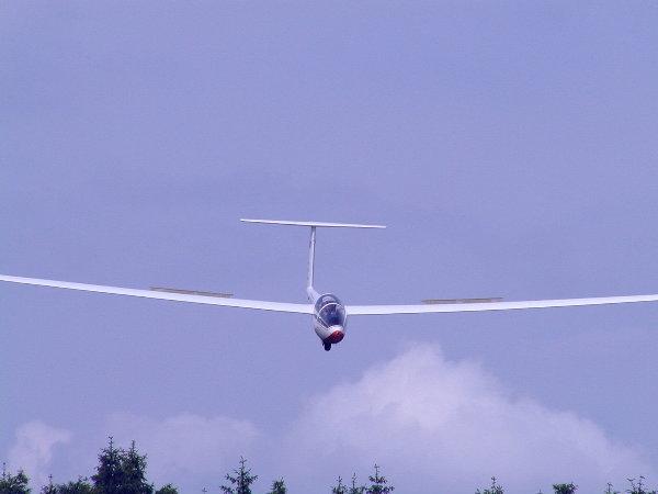 Anflug Landeklappen