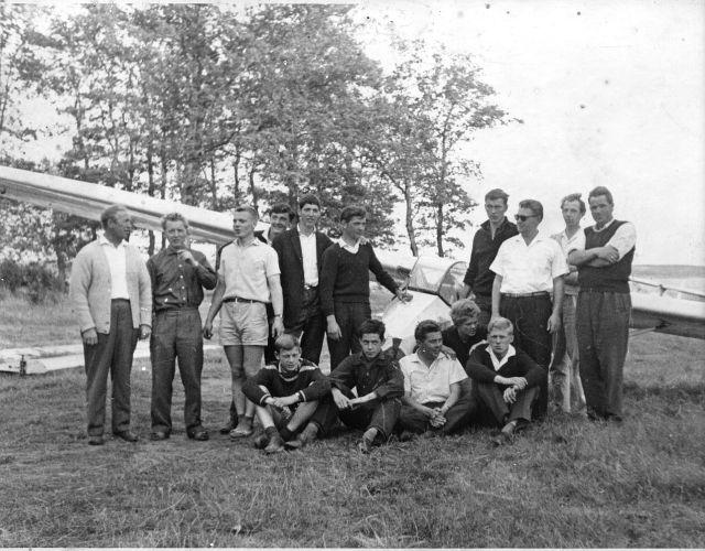 Luftsportverein Papenburg in den 60iger Jahren