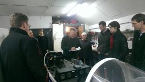 Unterricht in der Werkstatt